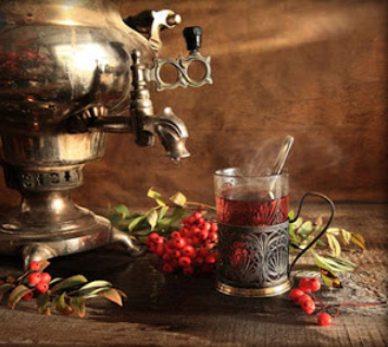 how to make tea russian style.
